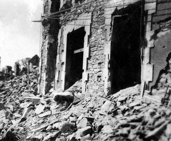 Saint-Lo France  city images : ... capture Saint Lo, France, taken 05 September 1944 during World War II